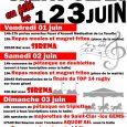 11/05/18: Le SCSC Festivités organise la Fête locale de Saint-Clar du Vendredi 1 juin au Dimanche 3 juin Vous trouverez le programme de la Fête sur l'affiche ci-jointe