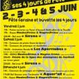15/05/17: Le SCSC Festivités organise la Fête locale de Saint-Clar du Vendredi 2 juin au Lundi 5 juin Vous trouverez le programme de la Fête sur l'affiche ci-jointe