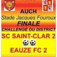 02/05/17: Tous en Rouges et Jaunes le dimanche 28 mai à Auch pour encourager les Réservistes du Sporting !